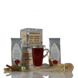 Weihnachtsfrüchte Tee Set