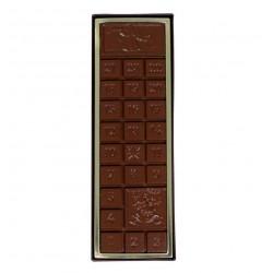 Schokoladentafel Adventskalender